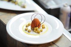 Dessert creations Stock Image