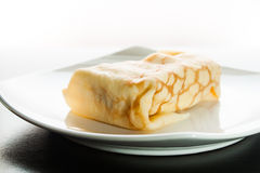 Dessert Crepes Royalty Free Stock Photography