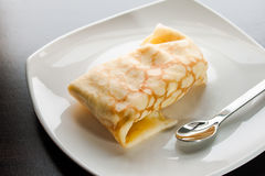 Dessert Crepes Stock Images