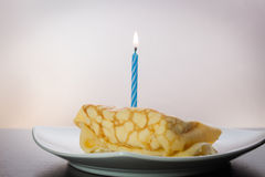 Dessert Crepes Royalty Free Stock Images