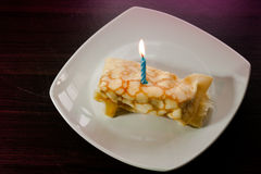 Dessert Crepes Stock Photo
