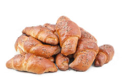 Dessert of croissant Royalty Free Stock Photos