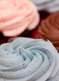 Dessert cupcakes Royalty Free Stock Photo