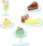 Dessert délicieux Photos libres de droits