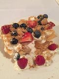 Dessert délicieux Images libres de droits