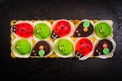 Dessert délicieux de plaque Image libre de droits