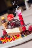 dessert 3d Immagini Stock