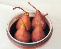 Dessert d'une poire Image stock