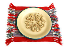 Dessert dai semi di girasole Fotografie Stock