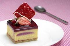 Dessert de baie Photo stock
