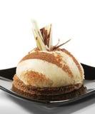 Dessert - de Cake van de Vanille Royalty-vrije Stock Foto's