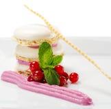 Dessert - de Cake van het Schuimgebakje Stock Foto's