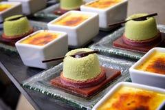 Dessert de cassis images stock