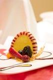 Dessert de Charlotte Royale Photographie stock libre de droits