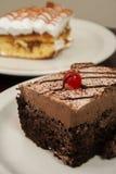 Dessert de Choco Photos libres de droits