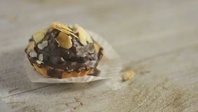 Dessert de chocolat Photos stock