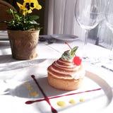 Dessert de citron Images libres de droits