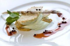 Dessert de crême glacée Image stock
