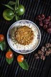 Dessert de fête de pâtisserie de mooncake de chinois traditionnel Photos stock