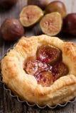 Dessert de figue Image libre de droits