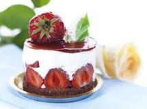 Dessert de fraise Images stock
