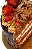 Dessert de fraise Photographie stock
