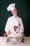 Dessert de fraise Image libre de droits