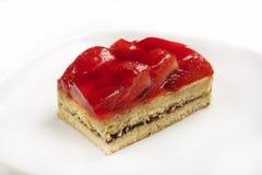 Dessert de fraise de sablé Images libres de droits