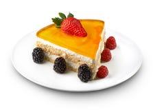 Dessert de fromage Photos libres de droits