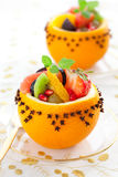 Dessert de fruit Photo stock