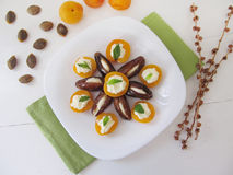 Dessert de fruit photographie stock libre de droits