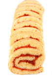Dessert de gâteau de petit pain Photo stock
