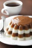 Dessert de gélatine images stock