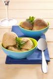 Dessert de gelée congelé par tamarinier Images stock