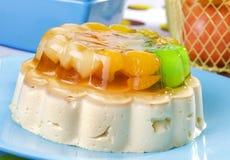 Dessert de gelée de fruit Image libre de droits