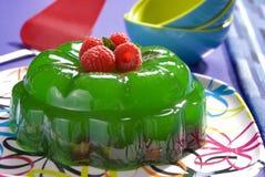 Dessert de gelée de réception Photographie stock libre de droits