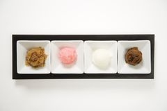 Dessert de Granitas. image libre de droits