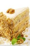 Dessert - de Kaastaart van Noten Royalty-vrije Stock Afbeelding