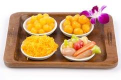 Dessert de la Thaïlande. Image libre de droits