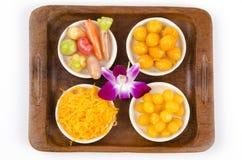 Dessert de la Thaïlande. Photos stock
