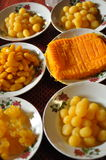 Dessert de la Thaïlande Images libres de droits
