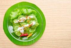 Dessert de la Thaïlande KHOW KRIEB PAK HMOR Photographie stock