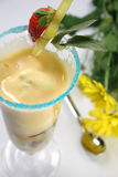 Dessert de lait Images stock