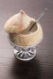 Dessert de lait de noix de coco images stock