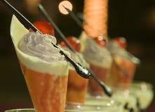 Dessert de luxe Images stock