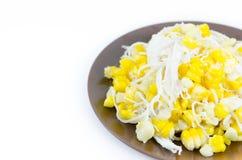 Dessert de maïs Images stock