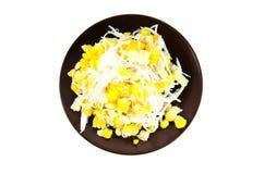 Dessert de maïs Image libre de droits