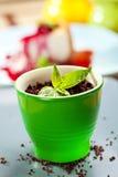 Dessert de mamie Images stock