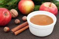 Dessert de Noël Photo stock