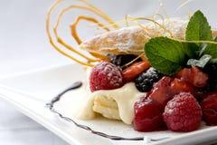 Dessert de pâtisserie image libre de droits